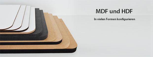 HDF MDF Platten Zuschnitte
