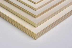 Multiplexplatten im Zuschnitt nach Maß