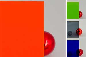 Farbiges PLEXIGLAS® im Maßzuschnitt
