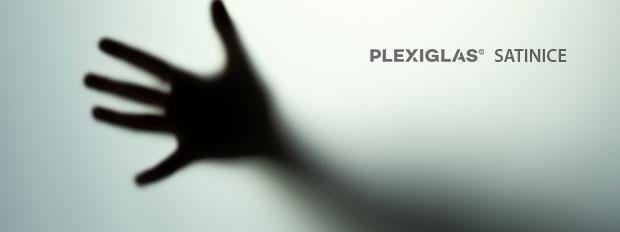 Plexiglas satiniert
