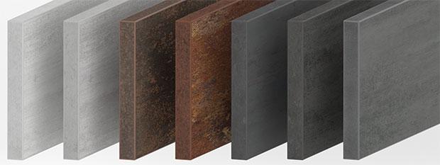 Spanplatten Materialdekor nach Maß