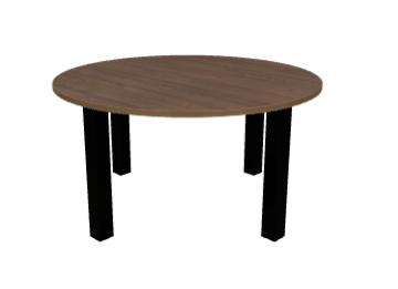 Runder Tisch 140 Cm Durchmesser Dekor Kastanie
