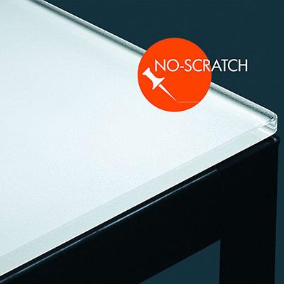 Glastisch mit mit No Scratch Oberfläche