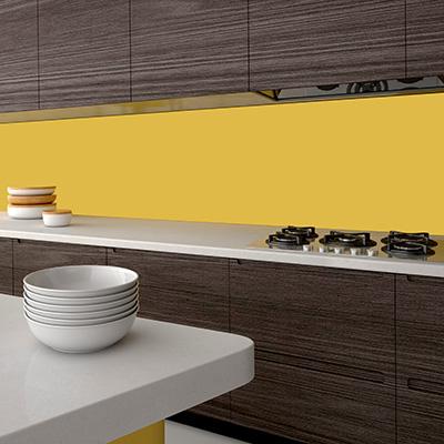 Farbige Küchenrückwand Alu Verbund