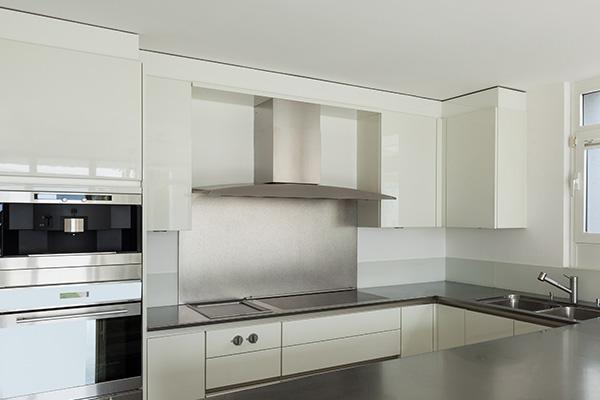 Küchenrückwand aus Aluminium Verbundplatte