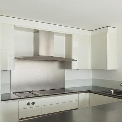 Küchenrückwand Alu Verbund Butlerfinish
