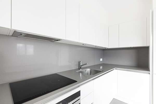 Küchenrückwand aus Kunststoff