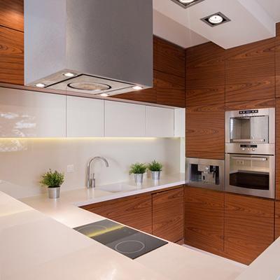 Küchenrückwand PLEXIGLAS® weiß