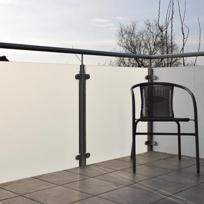 Kunststoffplatten als Balkon Sichtschutz