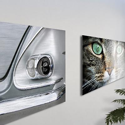 Kunststoffplatten Bilderdruck auf Alu Dibond® Butlerfinish