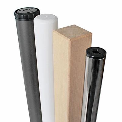 Tischbeine für Schreibtischplatten