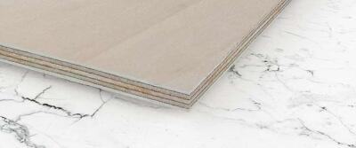 Multiplexplatte Holzplatte Tischplatte Rund Platte Birke *Kanten abgerundet*