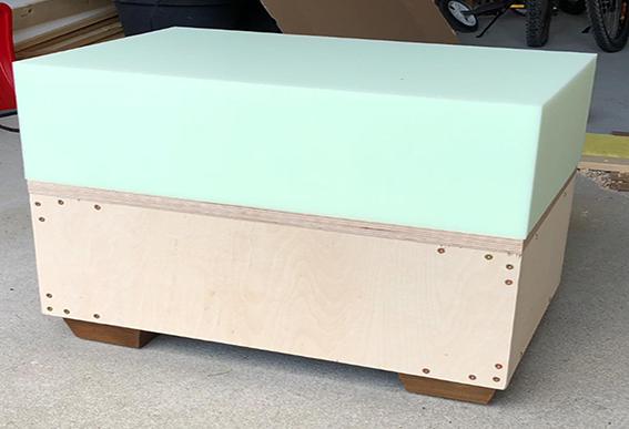 wasserfest verleimt Zuschnitt Siebdruckplatte 30mm Multiplex Birke Holzplatte