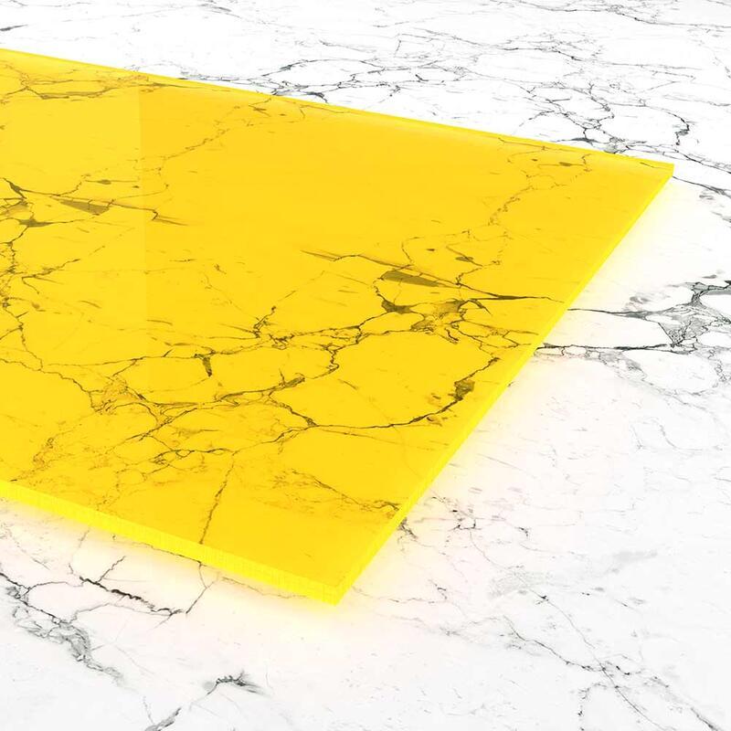 acrylglas gelb fluoreszierend. Black Bedroom Furniture Sets. Home Design Ideas