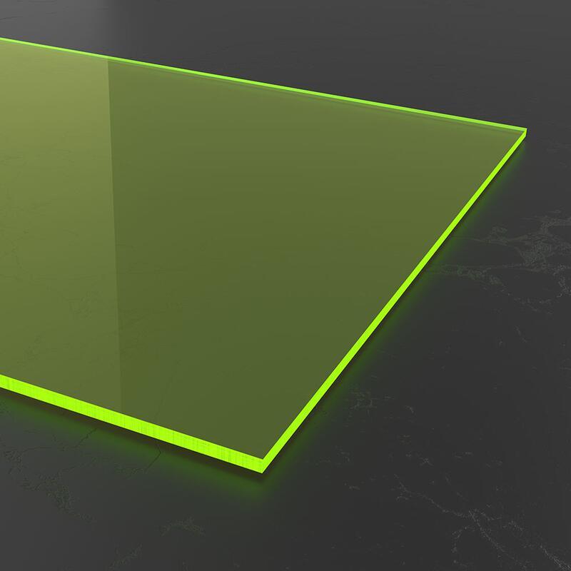 acrylglas gr n fluoreszierend 3mm zuschnitt nach ma. Black Bedroom Furniture Sets. Home Design Ideas