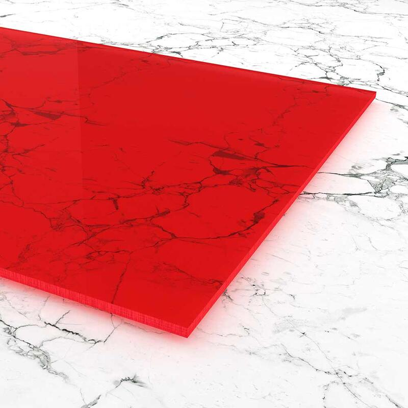 acrylglas rot fluoreszierend zuschnitt. Black Bedroom Furniture Sets. Home Design Ideas
