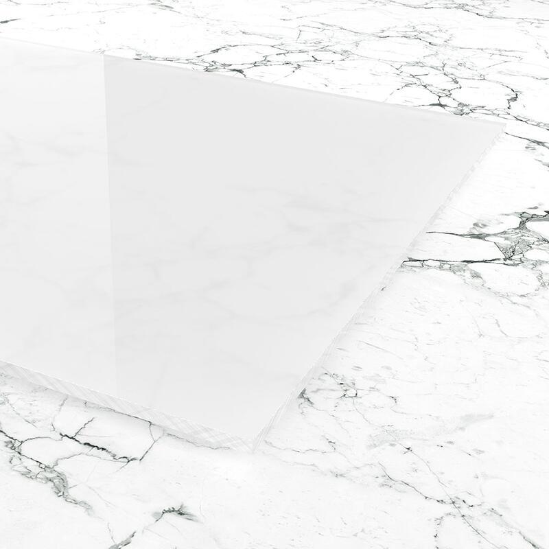 Plexiglas Milchglas Weiss Zuschnitt