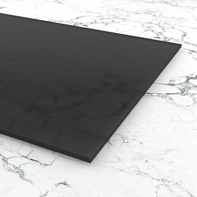 Acrylglas satiniert grau