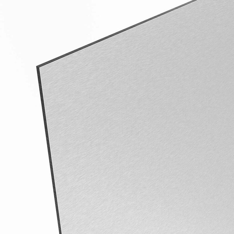 alu dibond alternative dilite silber. Black Bedroom Furniture Sets. Home Design Ideas