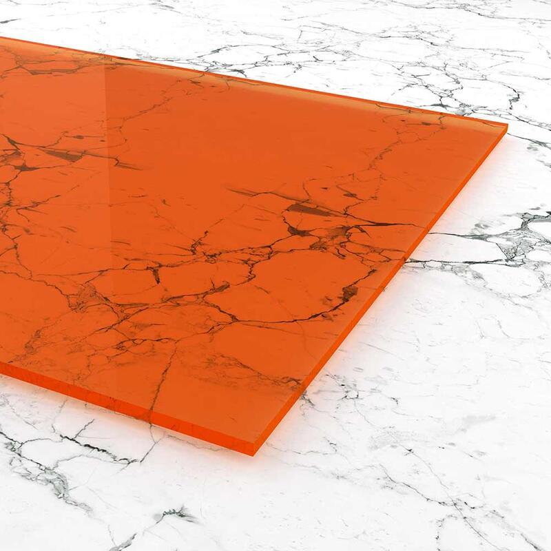 plexiglas orange im zuschnitt online kaufen. Black Bedroom Furniture Sets. Home Design Ideas