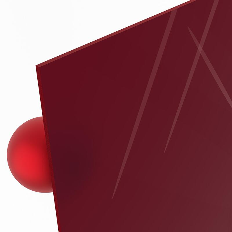 3 mm plexiglas dunkelrot online kaufen. Black Bedroom Furniture Sets. Home Design Ideas