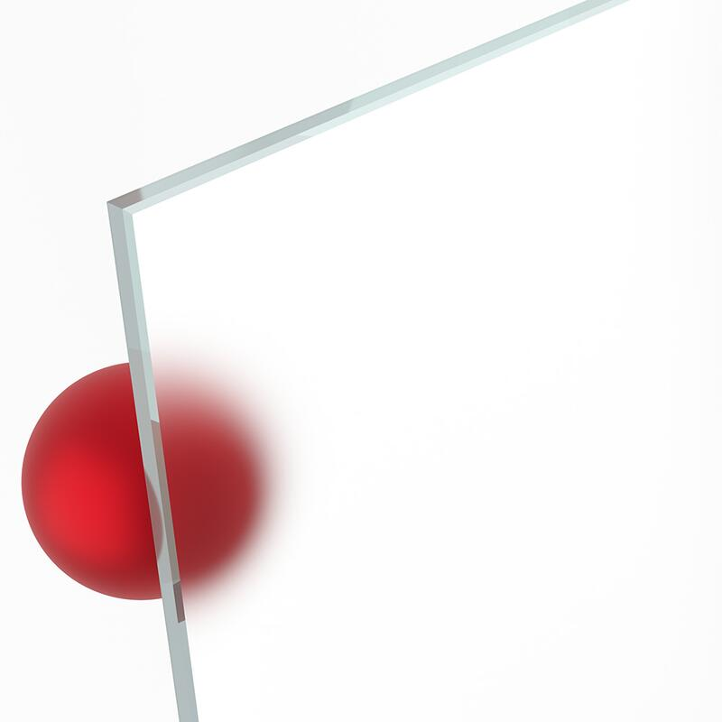 Ecken gesto/ßen Einscheibensicherheitsglas. ESG Satinato//Milchglas//Mattglas: mattierte Glasplatten nach Ma/ß 4mm Kanten geschliffen und poliert Nach Ma/ß bis 70 x 70 cm 700 x 700 mm